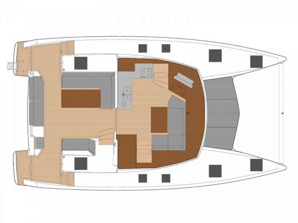 Fountaine Pajot Fountaine Pajot Lucia 40 between personal and professional Castellammare di Stabia