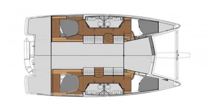 Louer Catamaran avec ou sans skipper Fountaine Pajot à Portimão