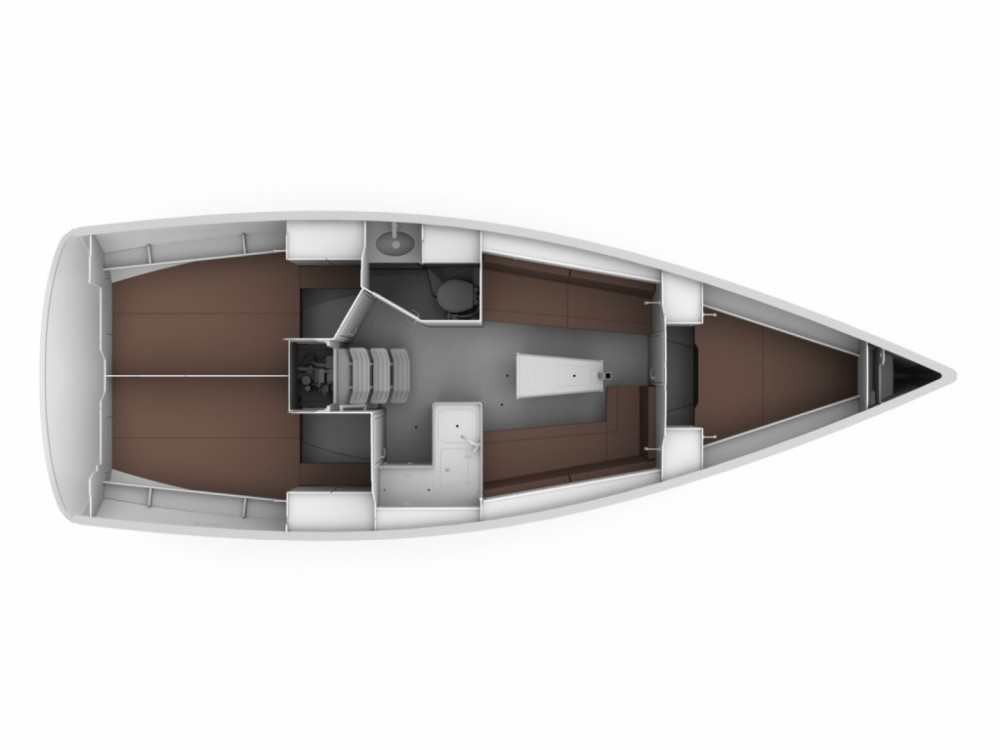 Bavaria Cruiser 34 between personal and professional Lavagna