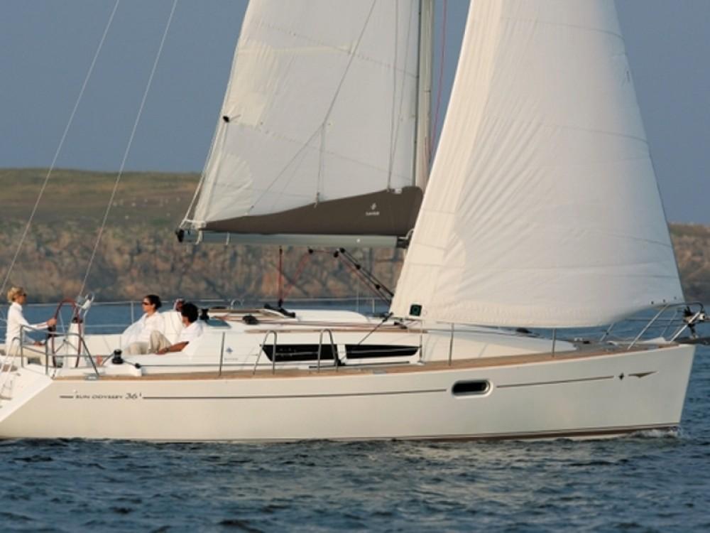 Rent a Jeanneau Sun Odyssey 36i Alimos Marina