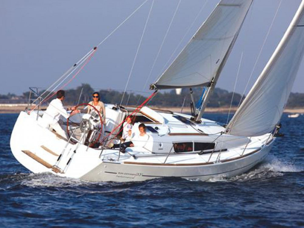 Rental yacht Alimos Marina - Jeanneau Sun Odyssey 36i on SamBoat