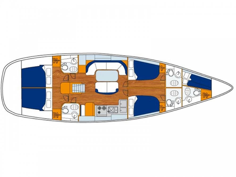 Rental Sailboat in Alimos Marina - Bénéteau Oceanis 50 Performance