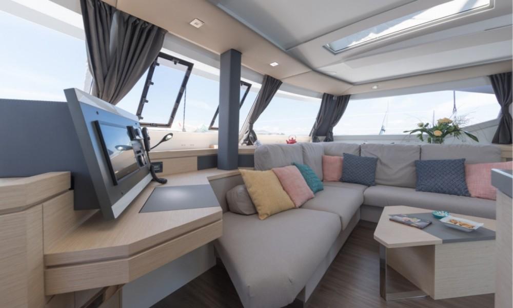 Rental yacht Alimos Marina - Fountaine Pajot Fountaine Pajot Saona 47 on SamBoat