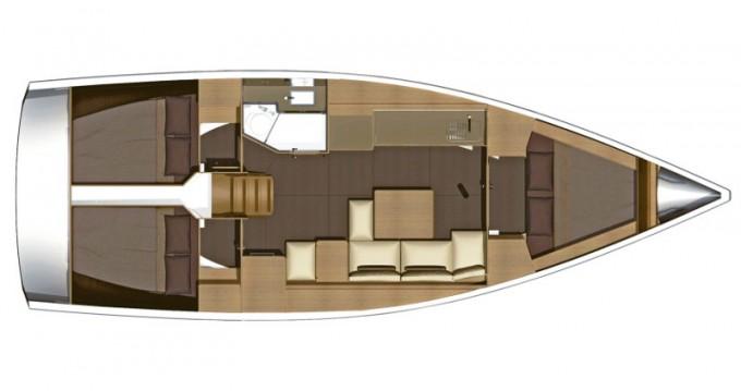 Dufour Dufour 382 Grand Large entre particuliers et professionnel à Cagliari