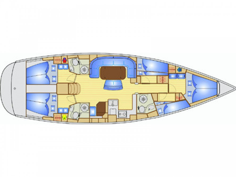 Rental yacht Alimos Marina - Bavaria Bavaria 49 on SamBoat