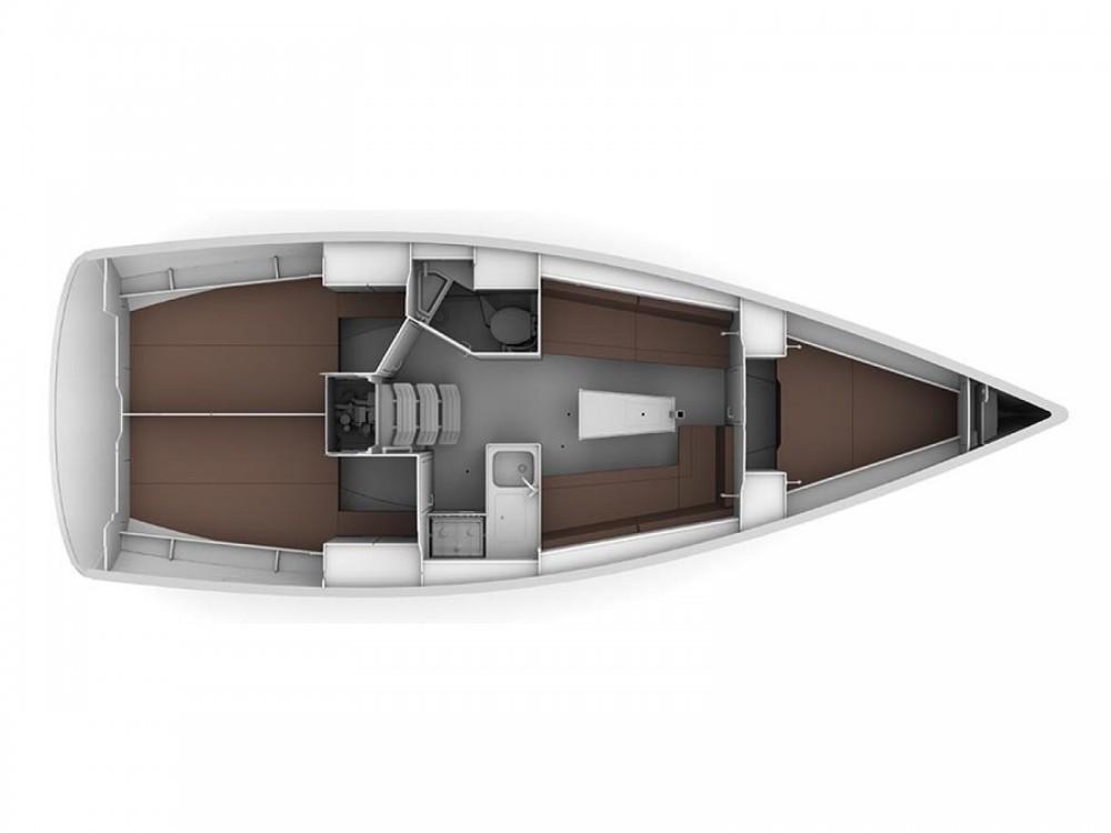 Sailboat for rent ACI Marina Trogir at the best price