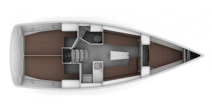 Location yacht à ACI Marina Trogir - Bavaria Cruiser 34 sur SamBoat