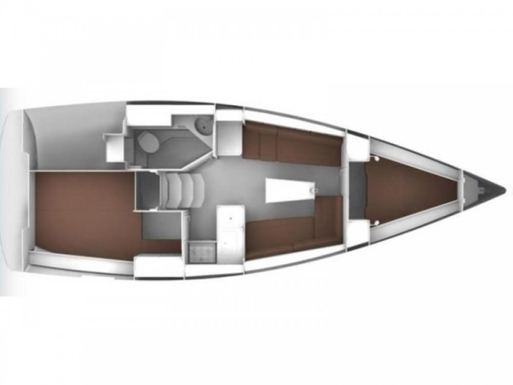 Bavaria Bavaria Cruiser 34 between personal and professional ACI Marina Trogir