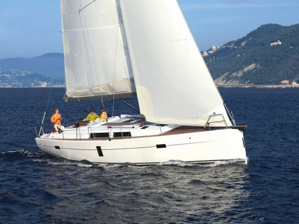 Boat rental ACI Marina Dubrovnik cheap Hanse 445