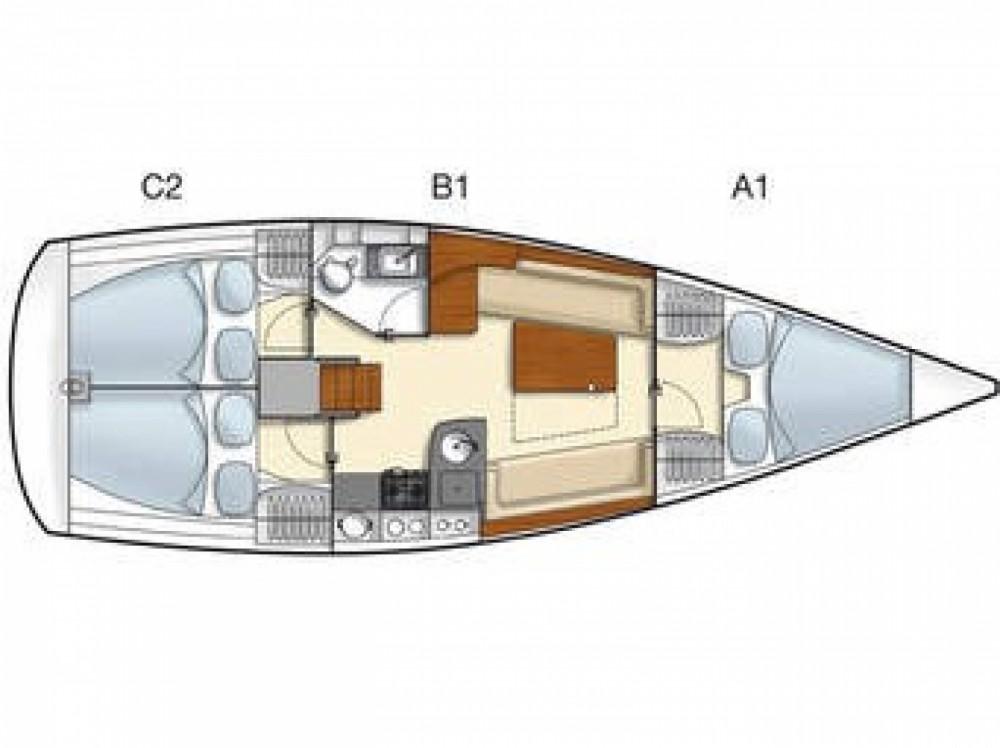Rental yacht ACI Marina Dubrovnik - Hanse Hanse 355 on SamBoat