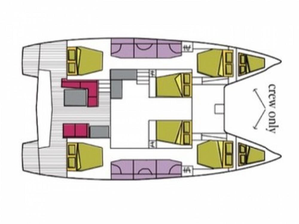 Rental Catamaran in Cala dei Sardi - Lagoon Lagoon 50