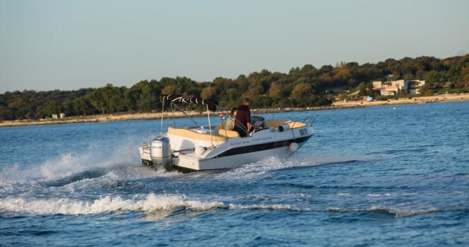 Motor boat for rent Vrsar at the best price