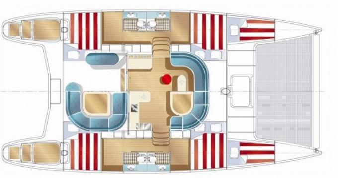 Location yacht à Hell-Ville - Nautitech Nautitech 40 sur SamBoat