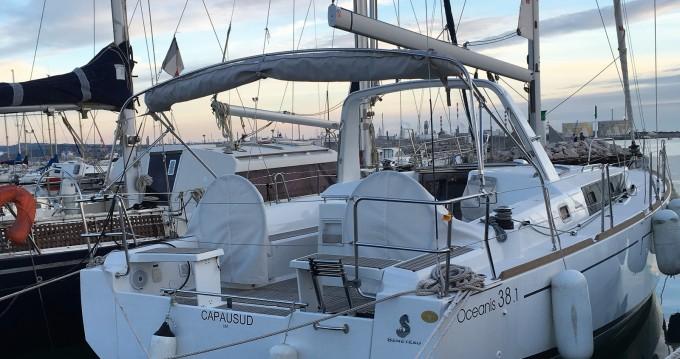 Location bateau Sète pas cher Oceanis 38.1
