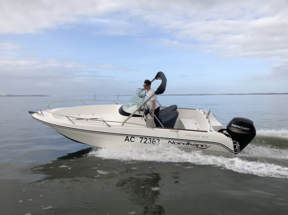 Hire Motor boat with or without skipper Nordkapp Andernos-les-Bains