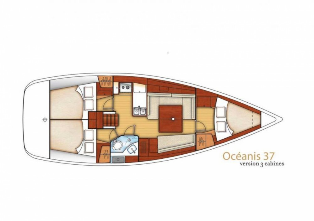 Rental Sailboat in Bandol - Bénéteau Oceanis 37