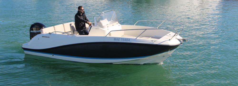 Location bateau Quicksilver Activ 605 Open à Saint-Raphaël sur Samboat
