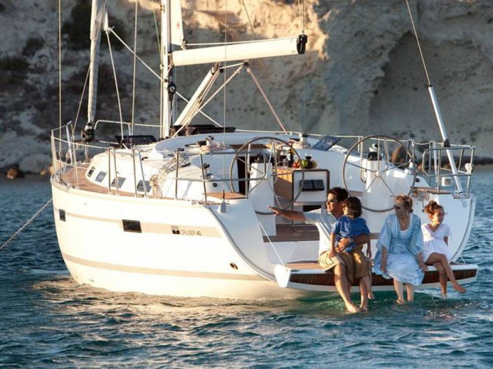 Hire Sailboat with or without skipper Bavaria Marina Naviera Balear