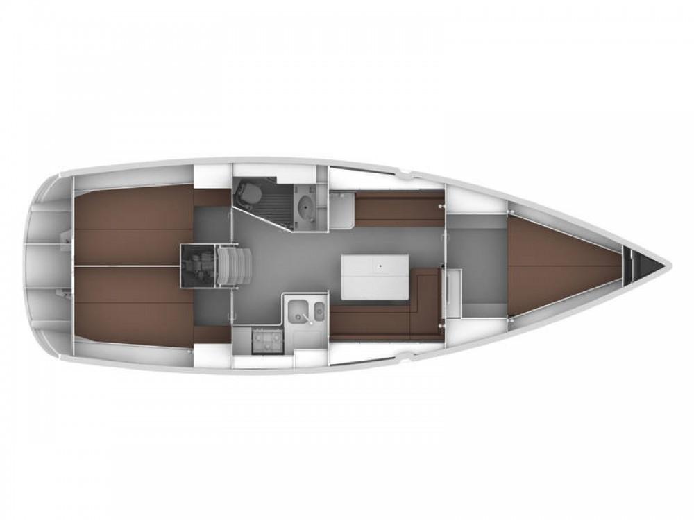 Location Voilier à De Fryske Marren - Bavaria Cruiser 36
