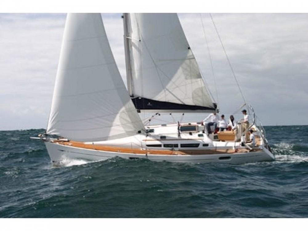 Jeanneau Sun Odyssey 42 i between personal and professional Préveza