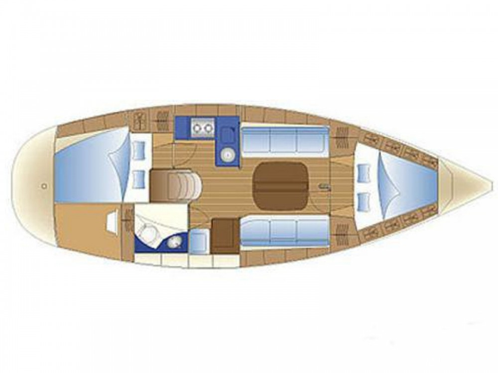 Boat rental Skiathos cheap Bavaria 32
