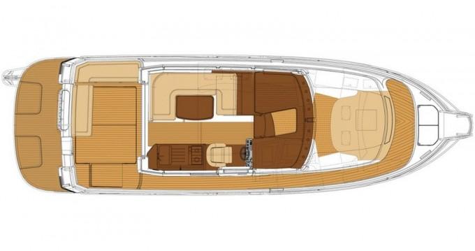 Location bateau Marina Pirovac pas cher Nimbus 365 Coupé