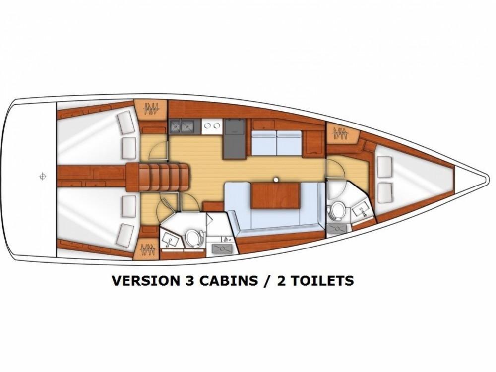 Louez un Bénéteau Beneteau Oceanis 38 à ACI Marina Split