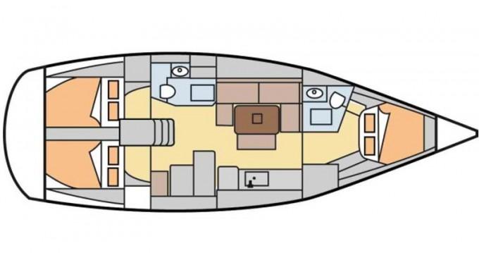 Location bateau Dufour Dufour 405 Grand Large à San Vincenzo sur Samboat