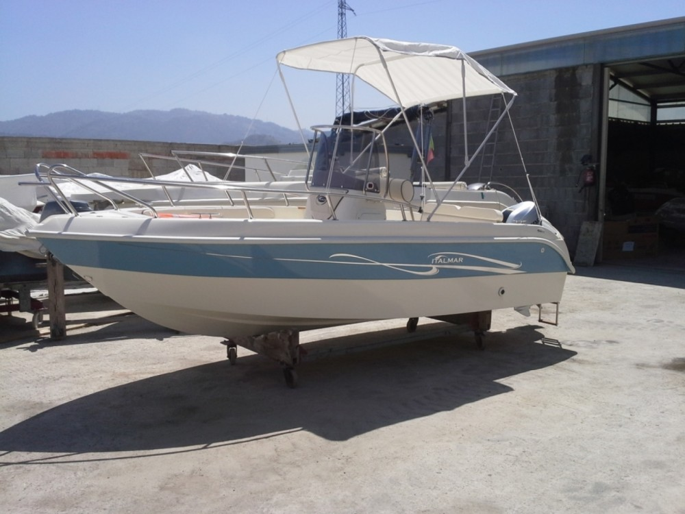 Location bateau Italmar ITALMAR 17 - 40 HP à Milazzo sur Samboat