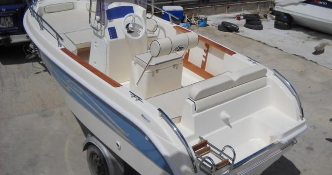 Location bateau Milazzo pas cher ITALMAR 17 - 40 HP