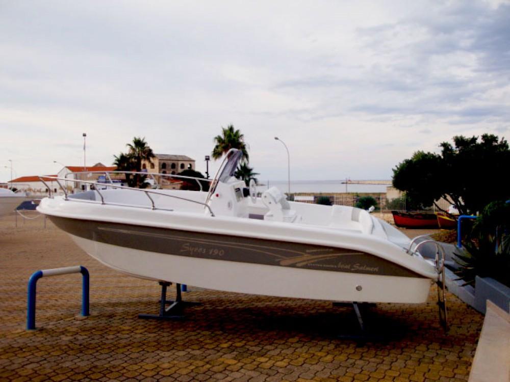 Boat rental Milazzo cheap Syros 190