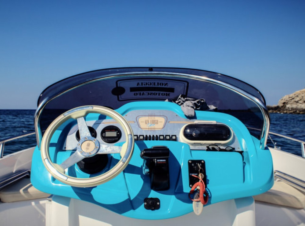 Motor boat for rent Milazzo at the best price