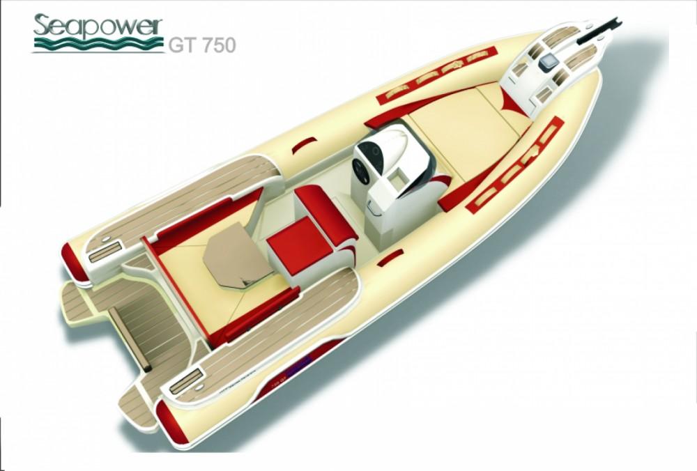 Location Semi-rigide à Milazzo - Seapower Gt750x GOMMONE SEAPOWER GT750x