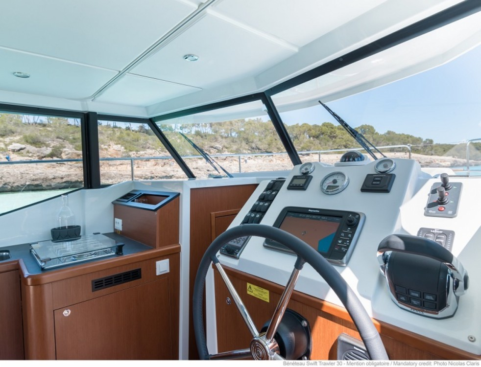 Bénéteau Swift Trawler 30 between personal and professional Trogir