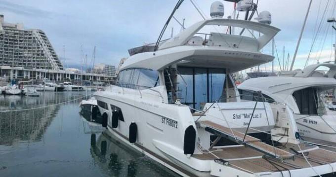 Location yacht à Palavas-les-Flots - Jeanneau Prestige 500 Fly sur SamBoat