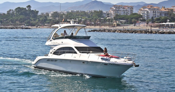 Yacht for rent Puerto Banus Marbella. at the best price