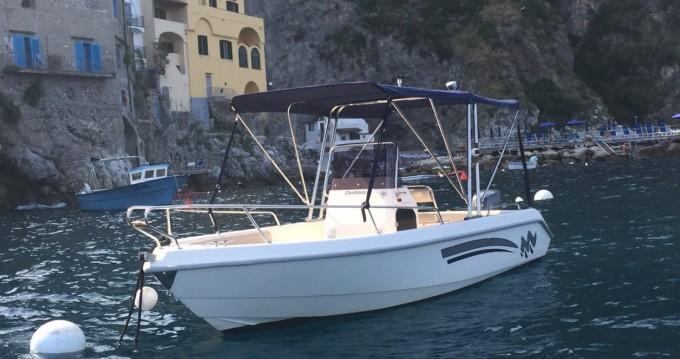 Location Bateau à moteur à Salerno - Terminal Boat BARCA OPEN TERMINAL BOAT 18
