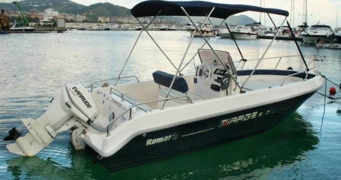 Location bateau Romar romar tirage 5.7 40hp à Salerno sur Samboat