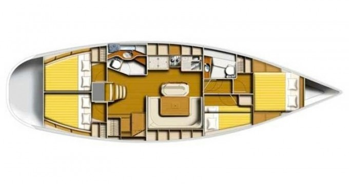 Location bateau Μαρίνα Αλίμου pas cher Harmony 47