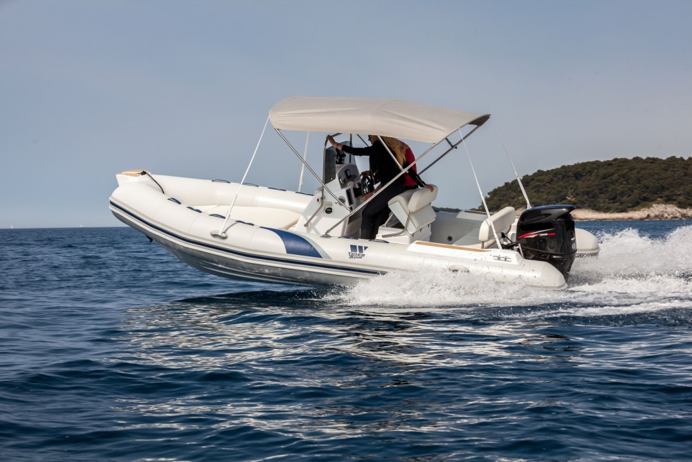 Rental RIB in Vrsar - Tiger SPORTLINE 550