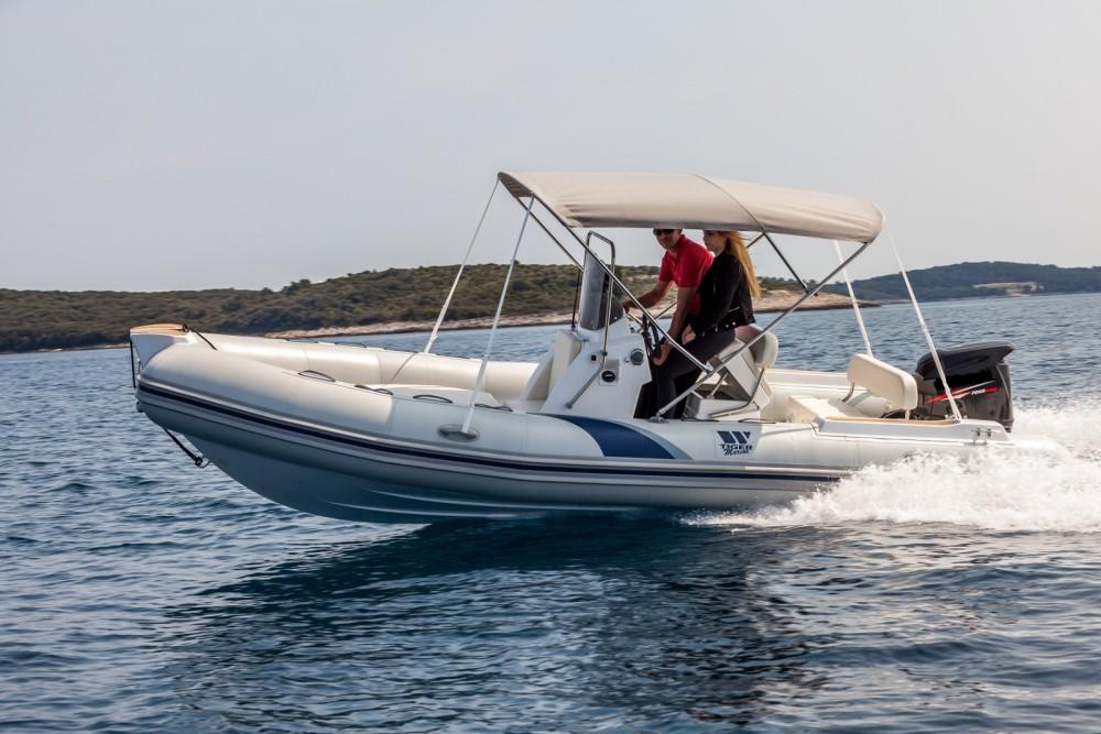 Verhuur Rubberboot in Vrsar - Tiger SPORTLINE 550