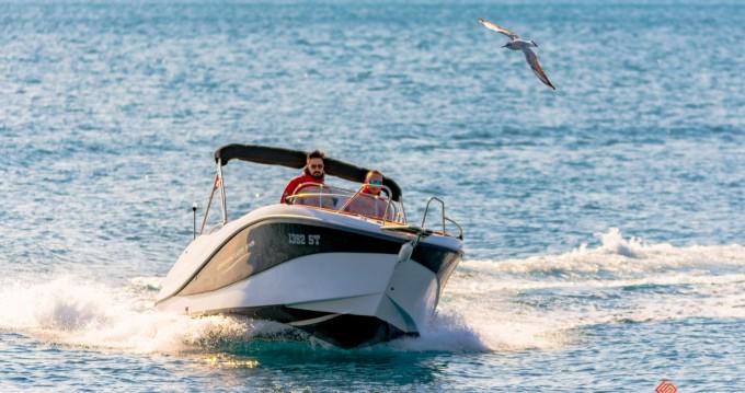 Location bateau Okiboats Barracuda 545 Open à Split sur Samboat