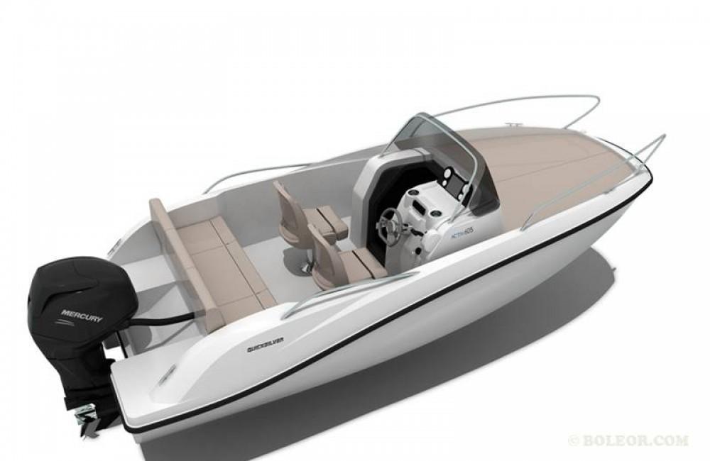 Motorboot mit oder ohne Skipper Quicksilver mieten in Palma