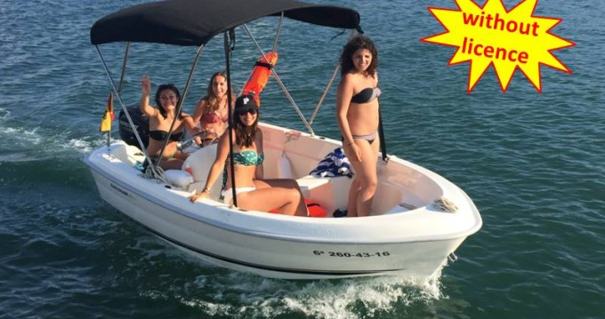 Rental Motor boat in Palma - Quicksilver B410 'Tethys' (without licence)
