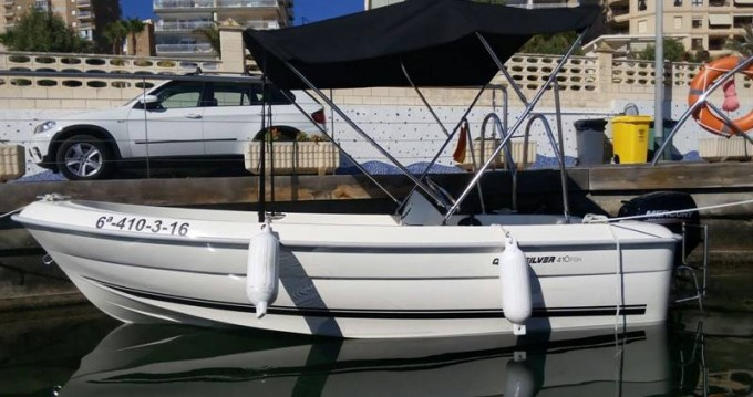 Quicksilver B410 'Tethys' (without licence) between personal and professional Palma