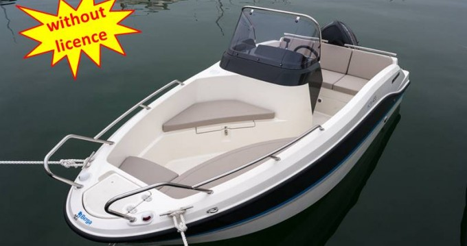 Rental Motor boat in Palma - Quicksilver B455 'Theia' (without licence)