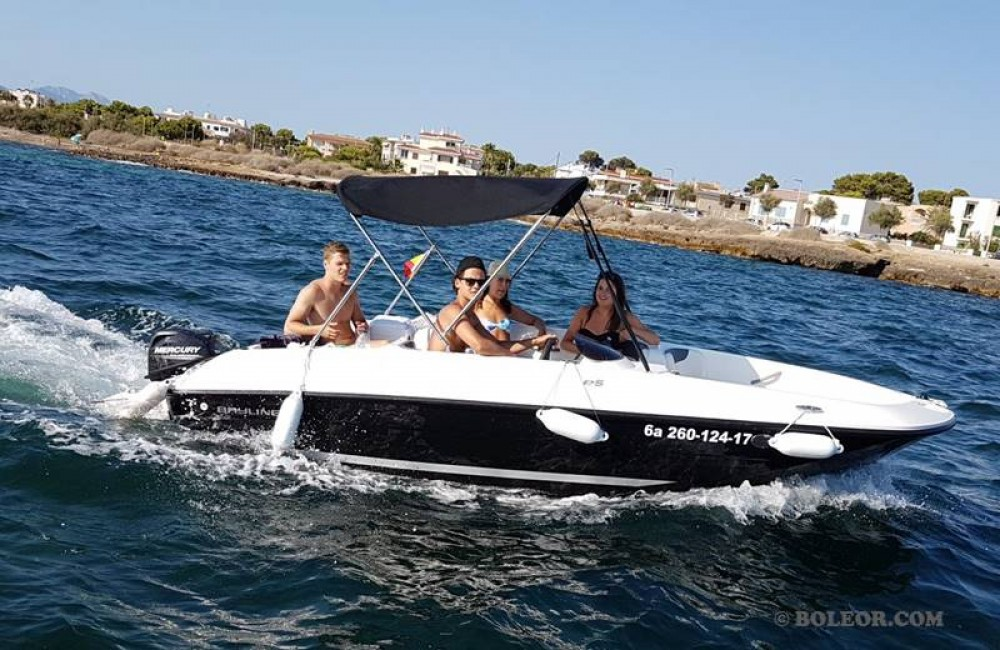 Motorboot mieten in Palma - Bayliner B540 'Gaia' (without licence)