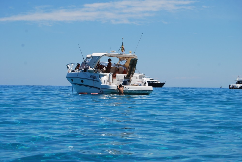 Boat rental Riposto cheap mira 34