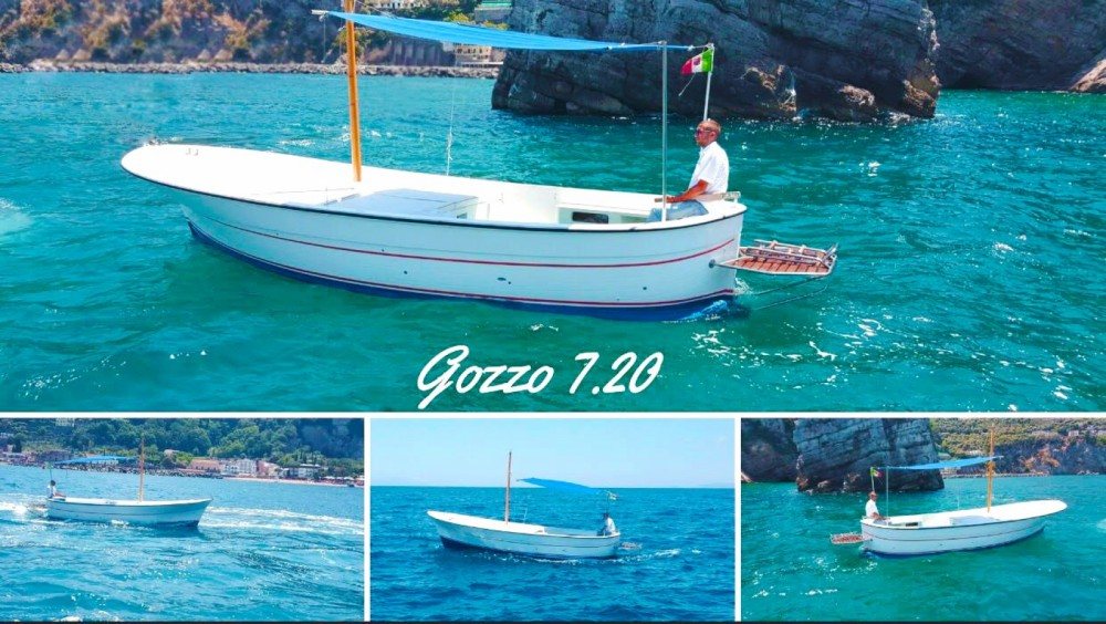 Hire Motor boat with or without skipper Gozzo Vico Equense