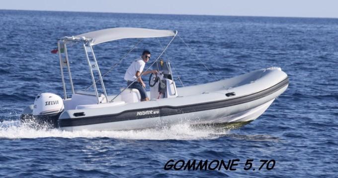 Location bateau Vico Equense pas cher Selva D570